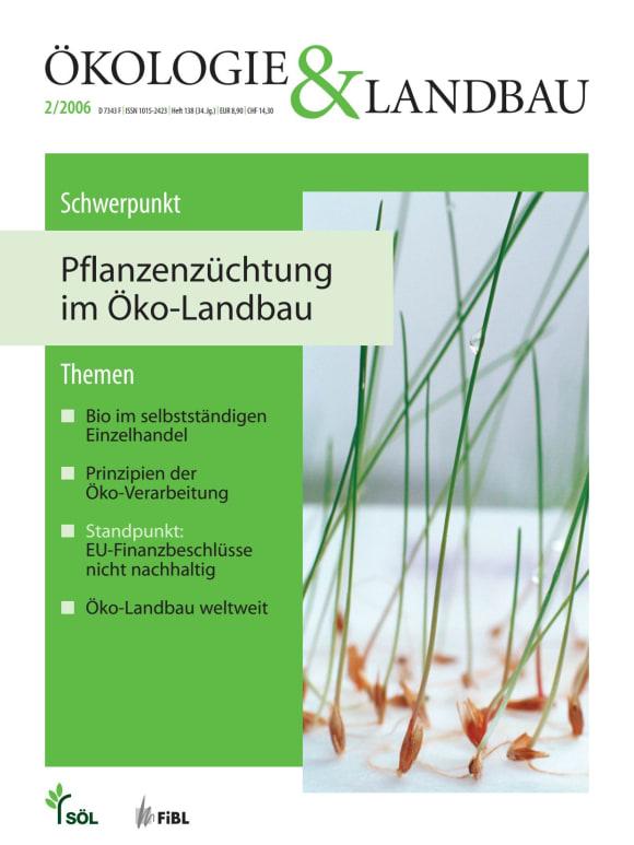Cover: Pflanzenzüchtung im Öko-Landbau