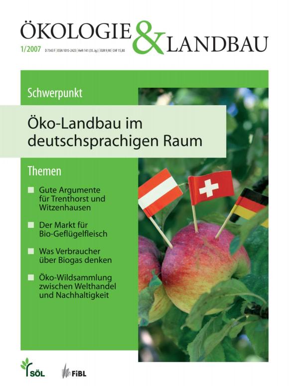 Cover: Öko-Landbau im deutschsprachigen Raum