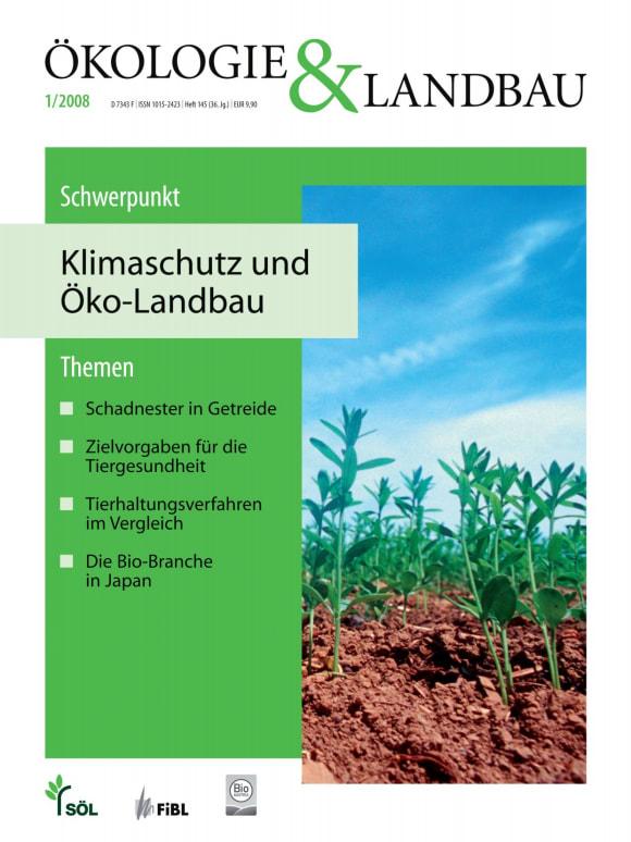 Cover: Klimaschutz und Öko-Landbau