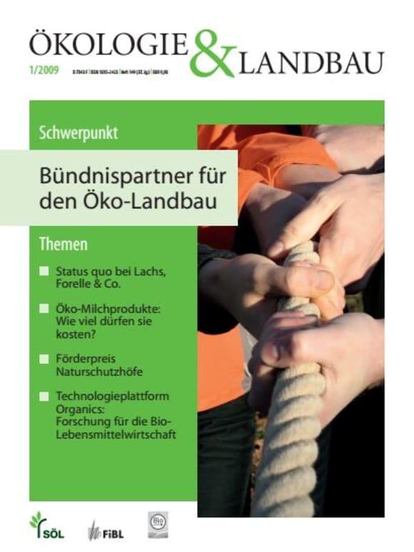 Cover: Bündnispartner für den Öko-Landbau