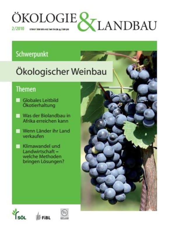 Cover: Ökologischer Weinbau