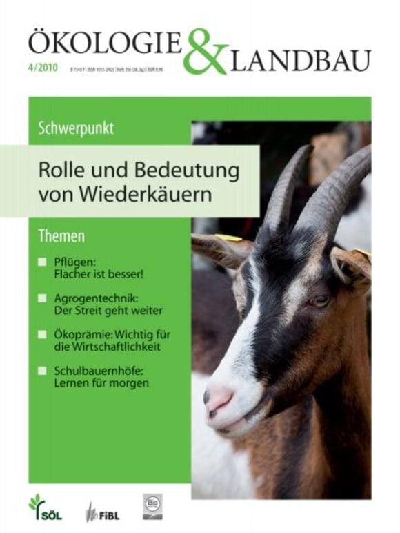 Cover: Rolle und Bedeutung von Wiederkäuern