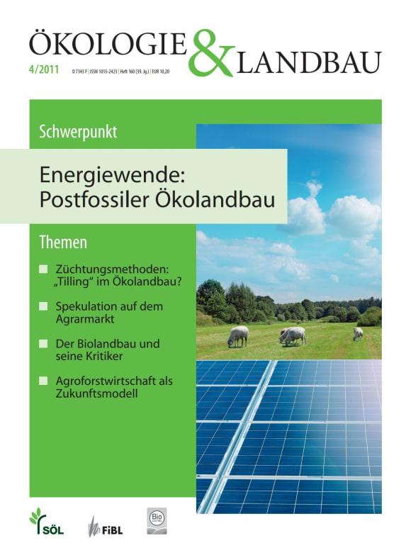 Cover: Energiewende: Postfossile Ökolandbau