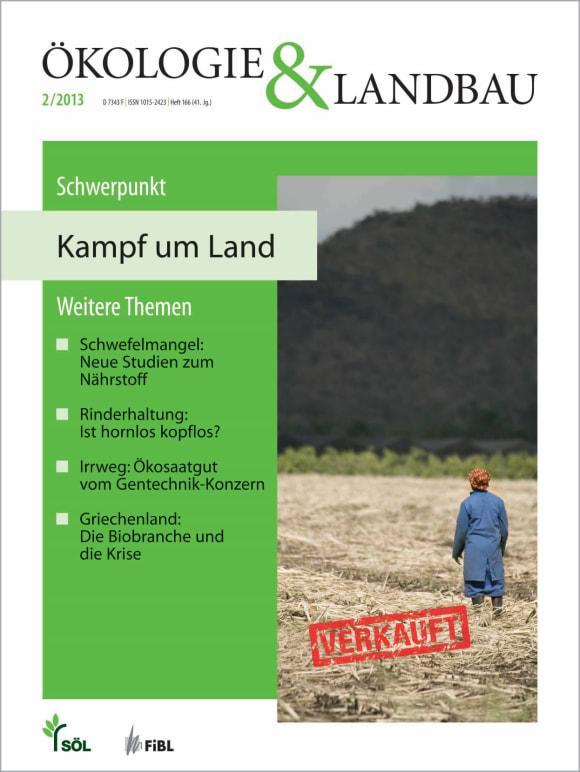 Cover: Kampf um Land