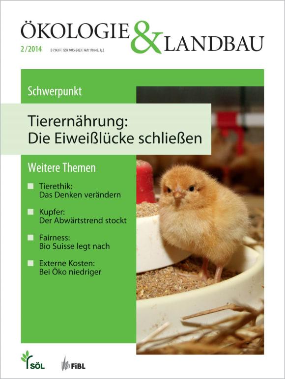 Cover: Tierernährung: Die Eiweißlücke schließen