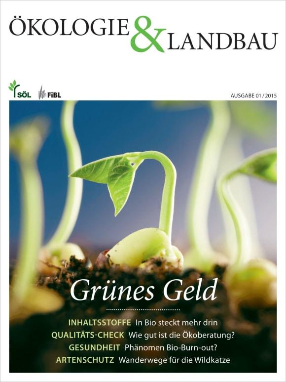 Cover: Grünes Geld