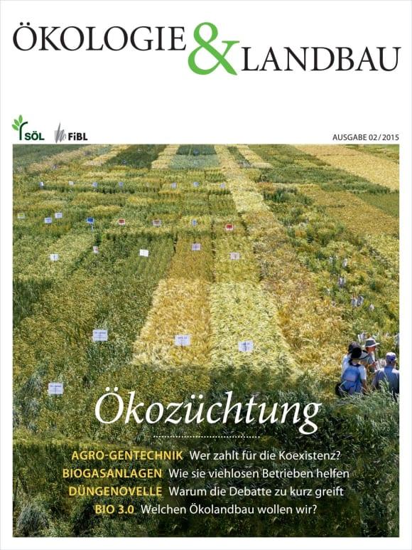 Cover: Ökozüchtung
