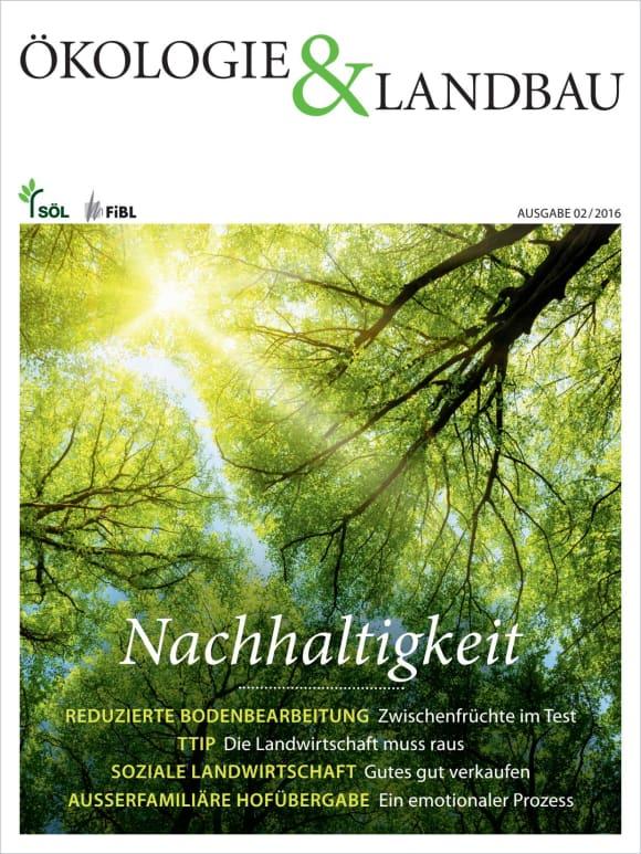 Cover: Nachhaltigkeit