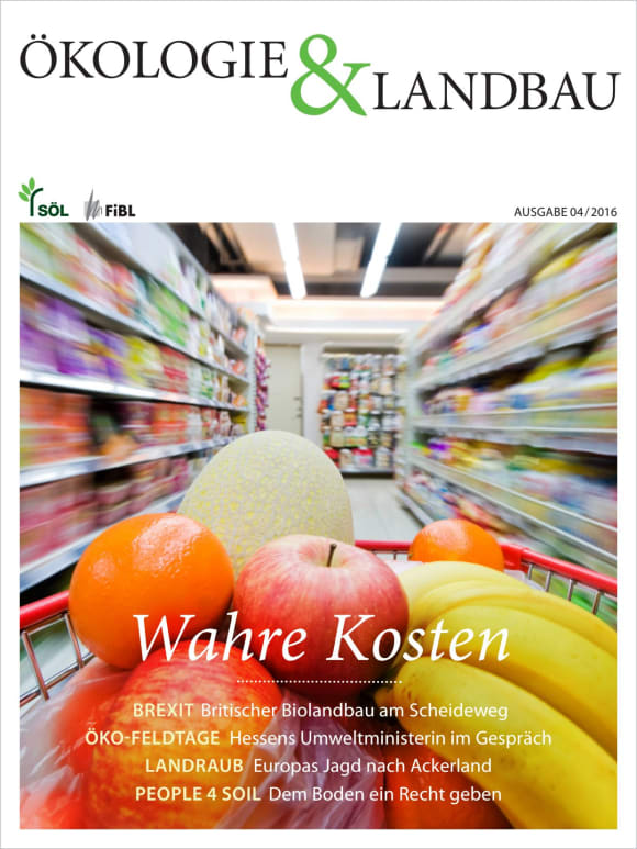 Cover: Wahre Kosten