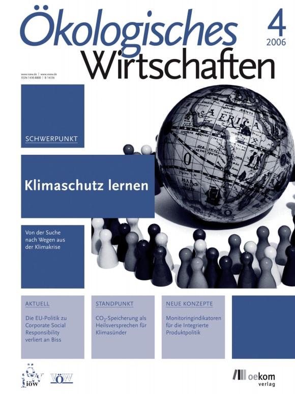 Cover: Klimaschutz lernen