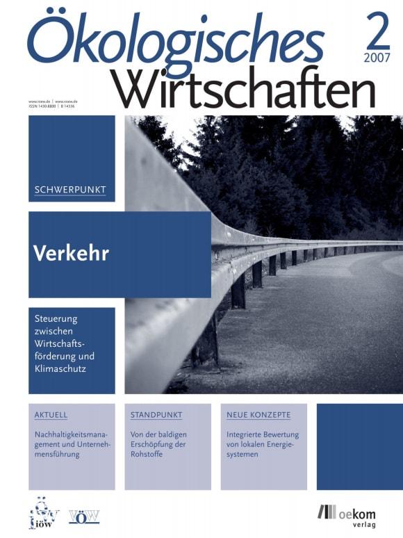 Cover: Verkehr