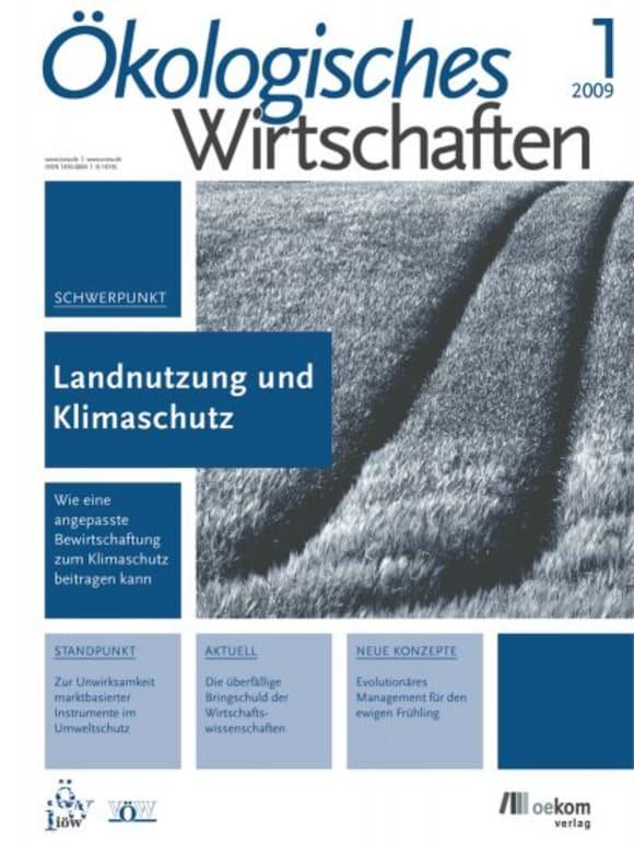 Cover: Landnutzung und Klimawandel