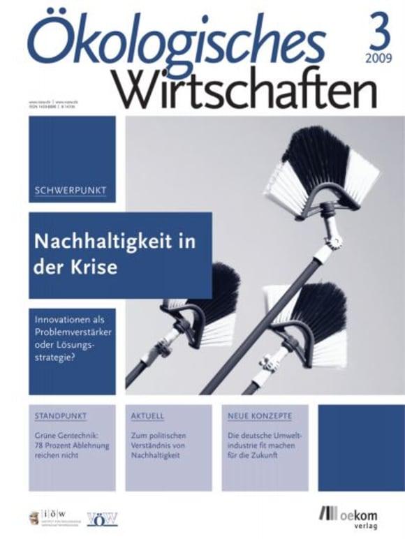 Cover: Nachhaltigkeit in der Krise