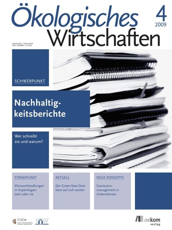 Cover: Nachhaltigkeitsberichte