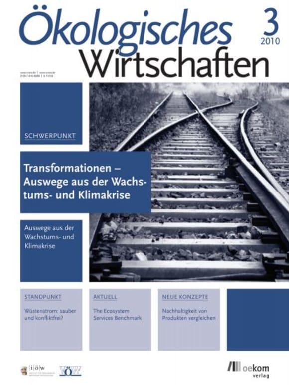 Cover: Transformationen - Auswege aus der Wachstums- und Klimafalle