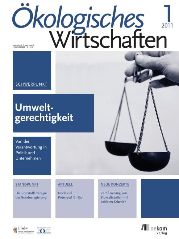 Cover: Umweltgerechtigkeit