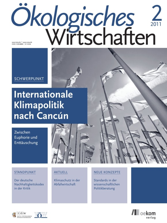 Cover: Internationale Klimapolitik nach Cancún