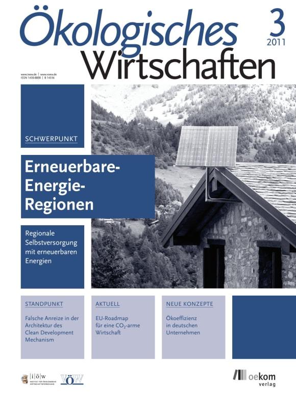 Cover: Erneuerbare-Energie-Regionen