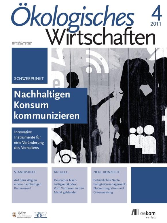 Cover: Nachhaltigen Konsum kommunizieren