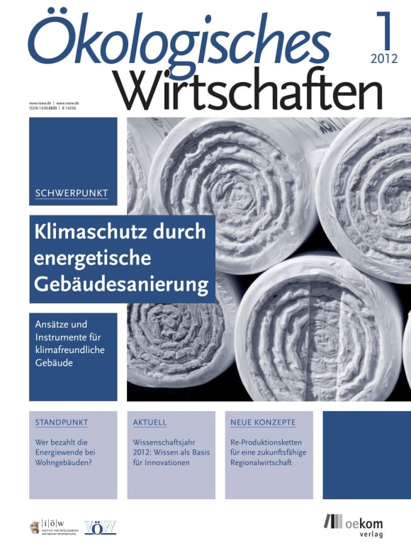 Cover: Klimaschutz durch energetische Gebäudesanierung