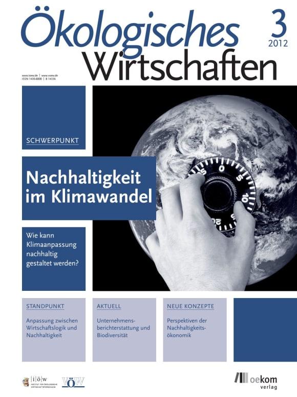 Cover: Nachhaltigkeit im Klimawandel