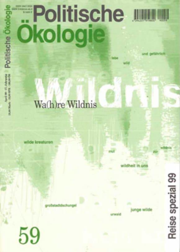 Cover: Wa(h)re Wildnis