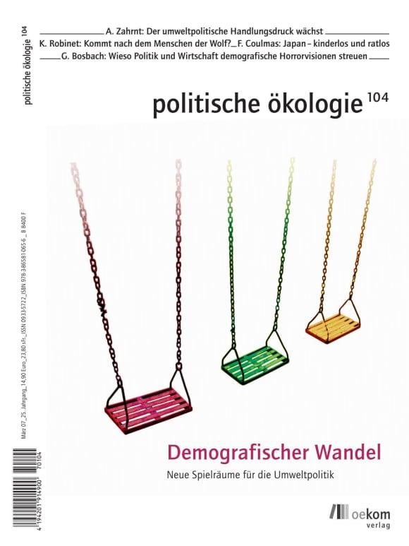 Cover: Demografischer Wandel