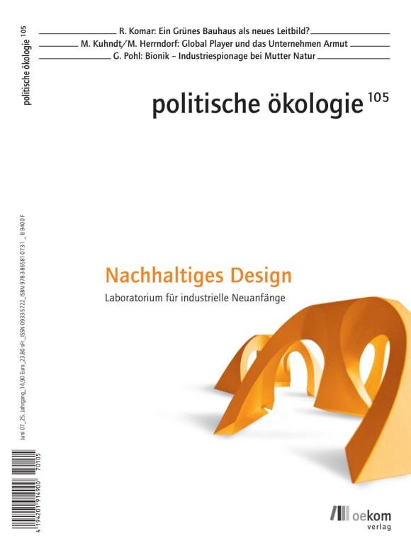 Cover: Nachhaltiges Design