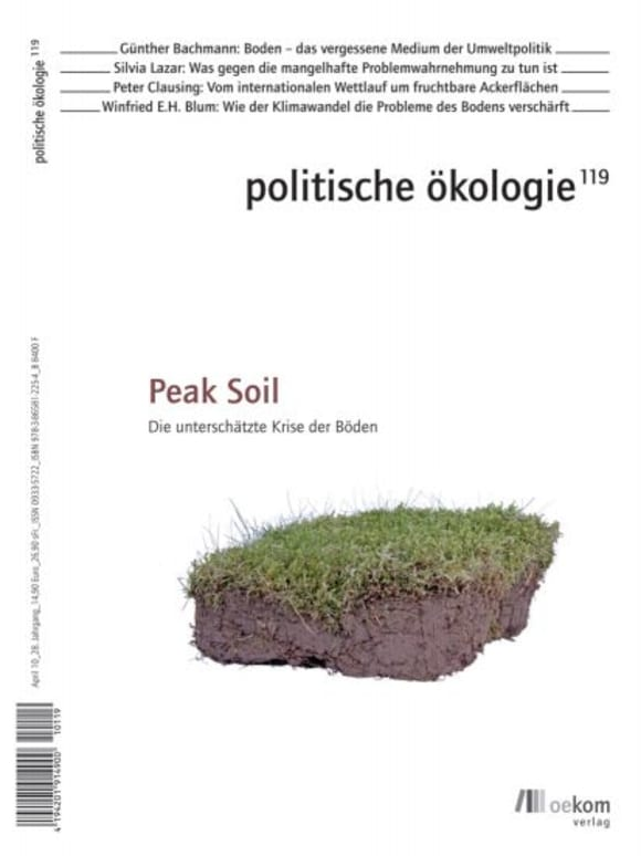 Cover: Peak Soil