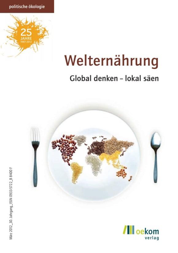 Cover: Welternährung