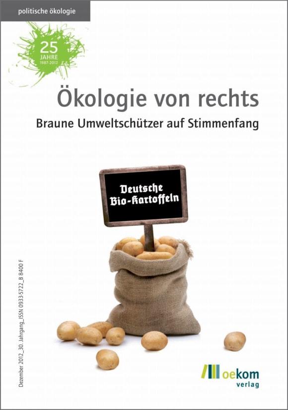Cover: Ökologie von rechts