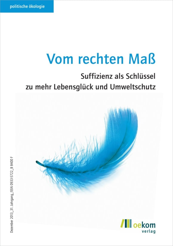 Cover: Vom rechten Maß
