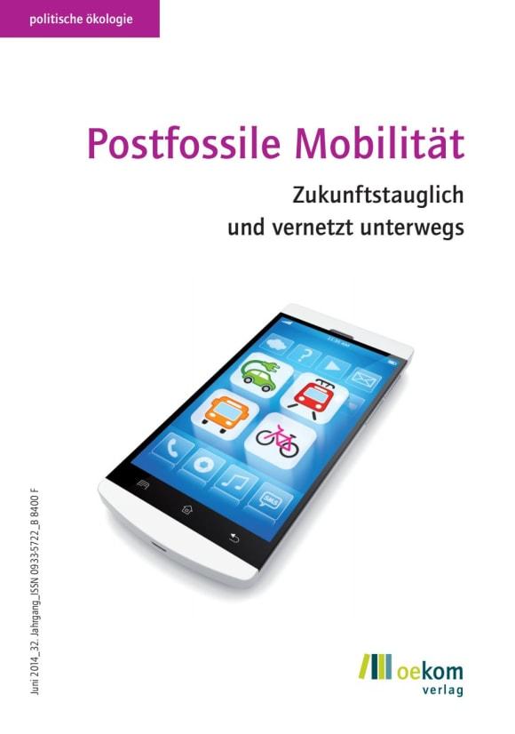 Cover: Postfossile Mobilität