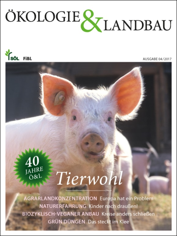 Cover: Tierwohl