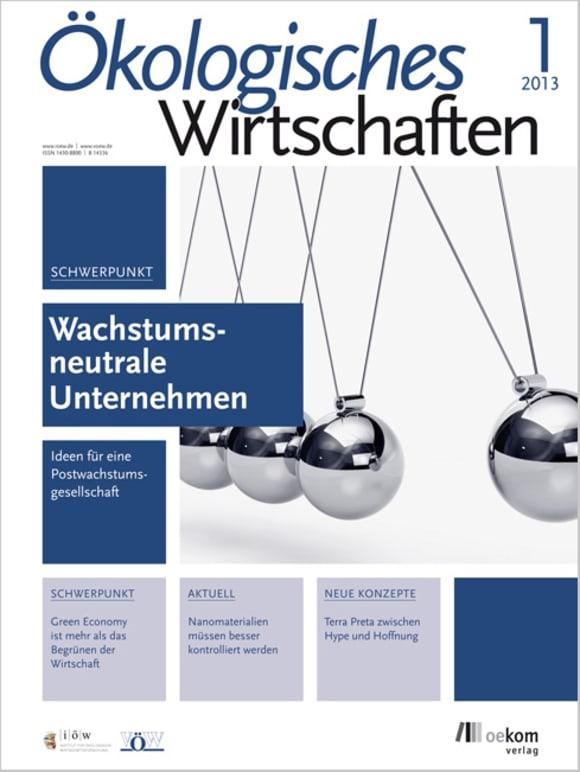 Cover: Wachstumsneutrale Unternehmen