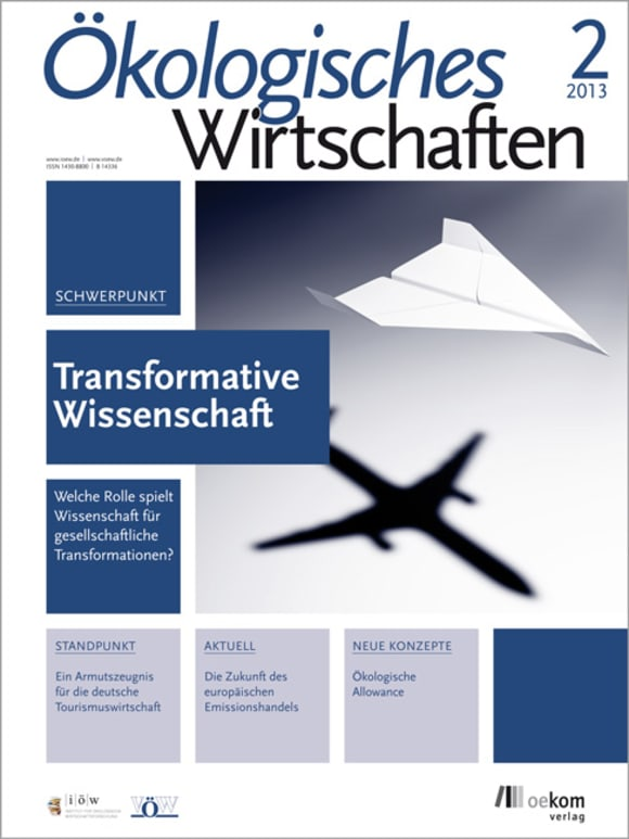 Cover: Transformative Wissenschaft