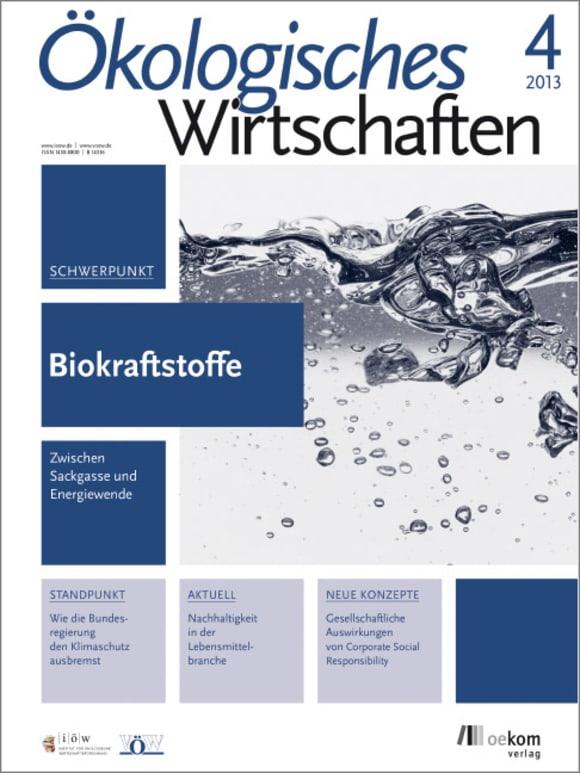 Cover: Biokraftstoffe