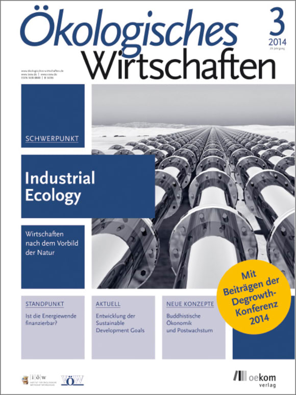 Cover: Industrial Ecology