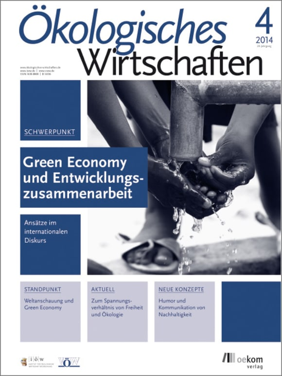 Cover: Green Economy und Entwicklungszusammenarbeit