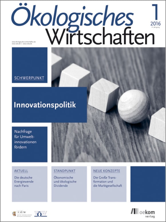 Cover: Innovationspolitik