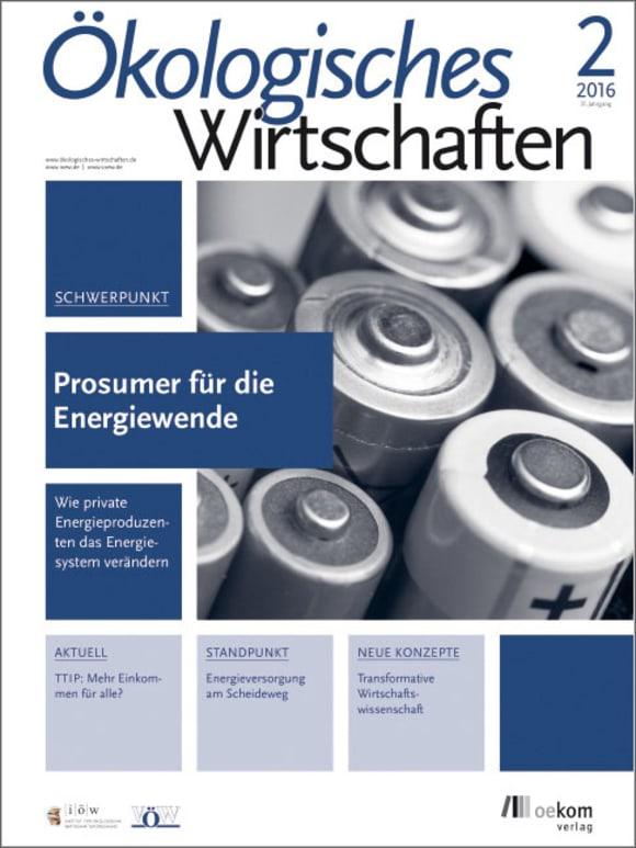 Cover: Prosumer für die Energiewende