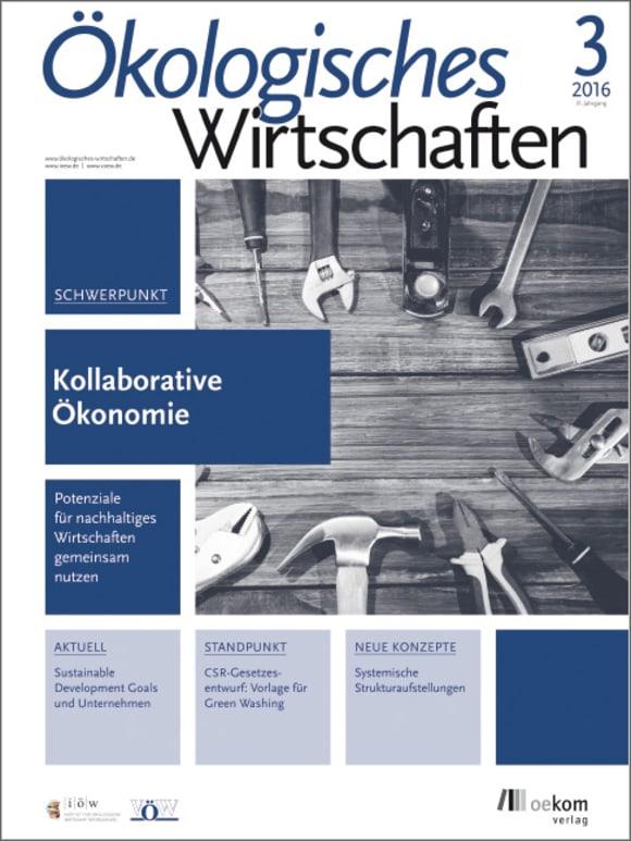 Cover: Kollaborative Ökonomie