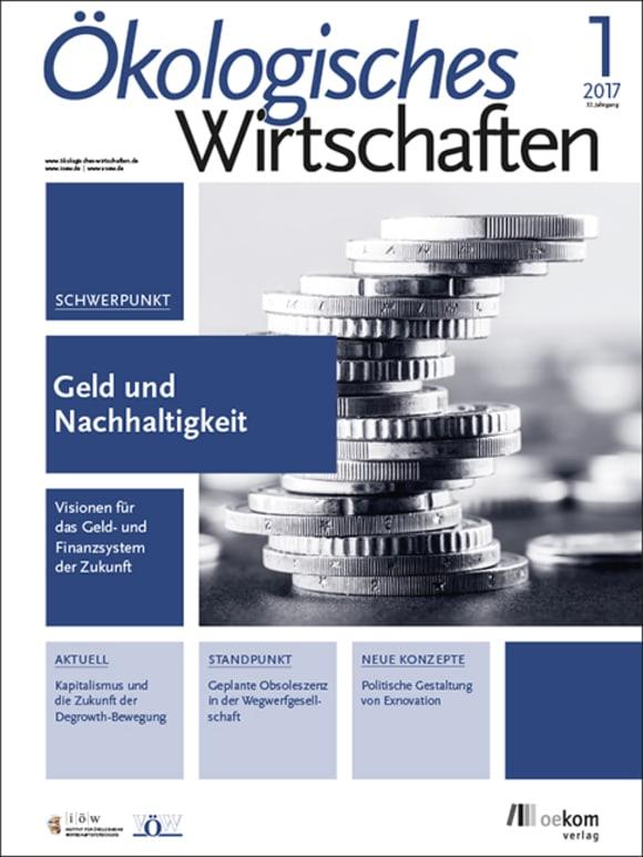 Cover: Geld und Nachhaltigkeit