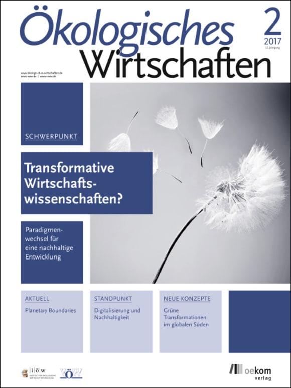 Cover: Transformative Wirtschaftswissenschaften?