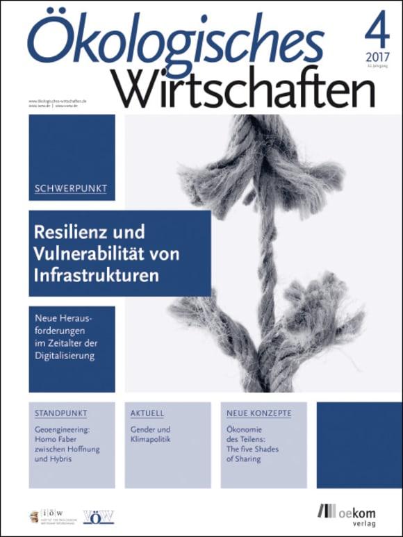 Cover: Resilienz und Vulnerabilität von Infrastrukturen
