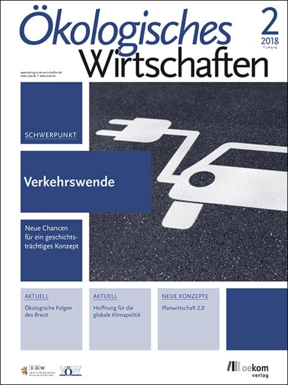 Cover: Verkehrswende