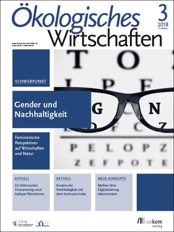 Cover: Gender und Nachhaltigkeit