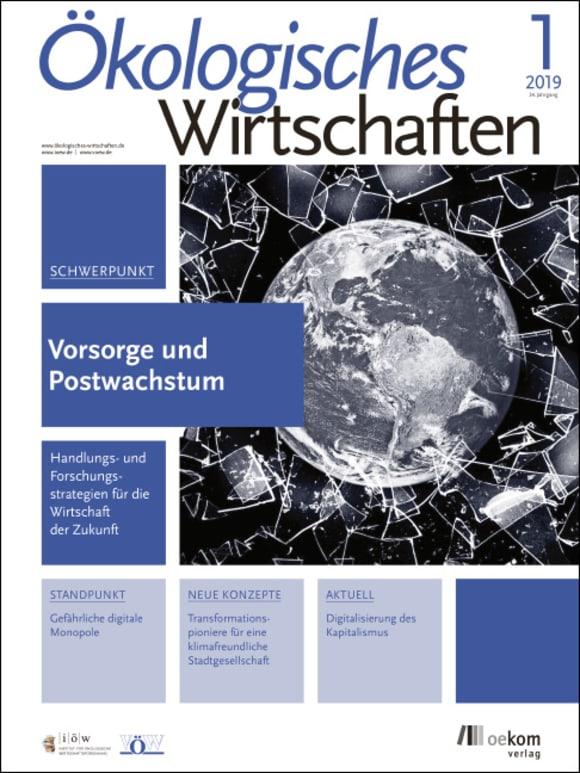Cover: Vorsorge und Postwachstum