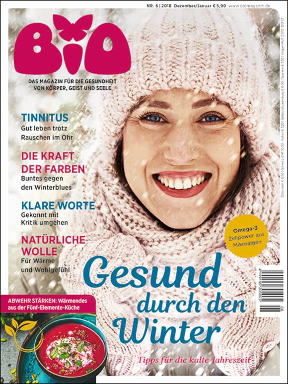 Cover: Gesund durch den Winter mit TCM