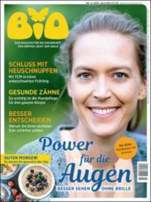 Cover: Power für die Augen